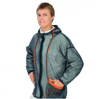 куртка из рыбацкой сетки
